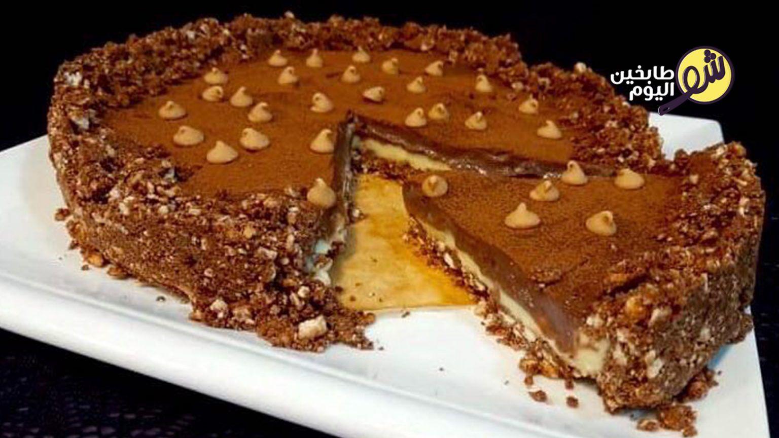 تارت الشوكولا والكراميل شو طابخين اليوم Dessert Recipes Desserts Food