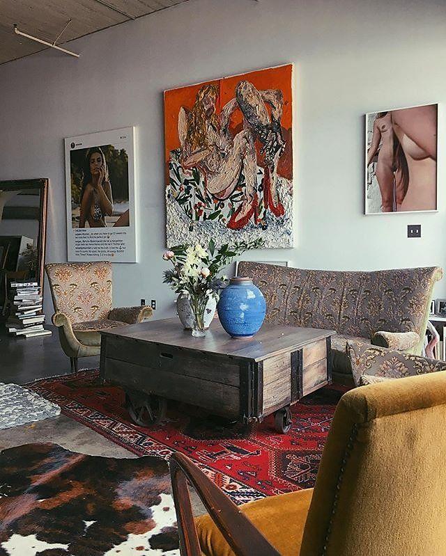 Apartment Inside Night a peek inside emily ratajkowski's apartment—framed instagram