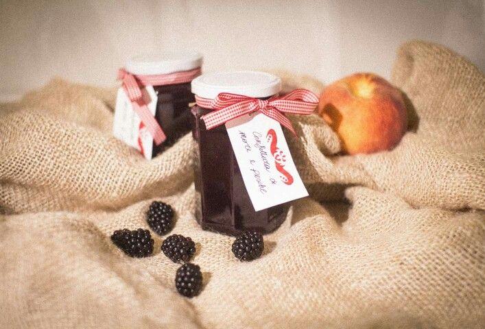 Confettura di more e pesche - BlackBerry jam and peaches  #ricetta#confettura#homemade#more#pesche#dolce#recipe#jam#blackberry#peaches#sweet