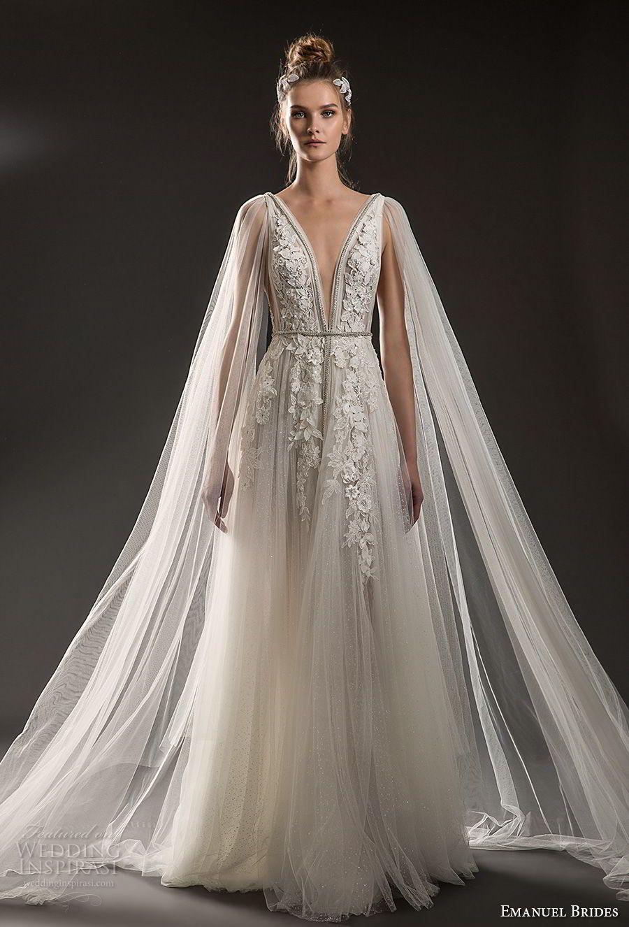 sheer cape for wedding dress