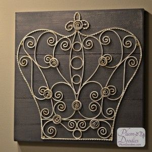 Updated Crown Wall Art Crown Wall Decor Crown Wall Decor Crown