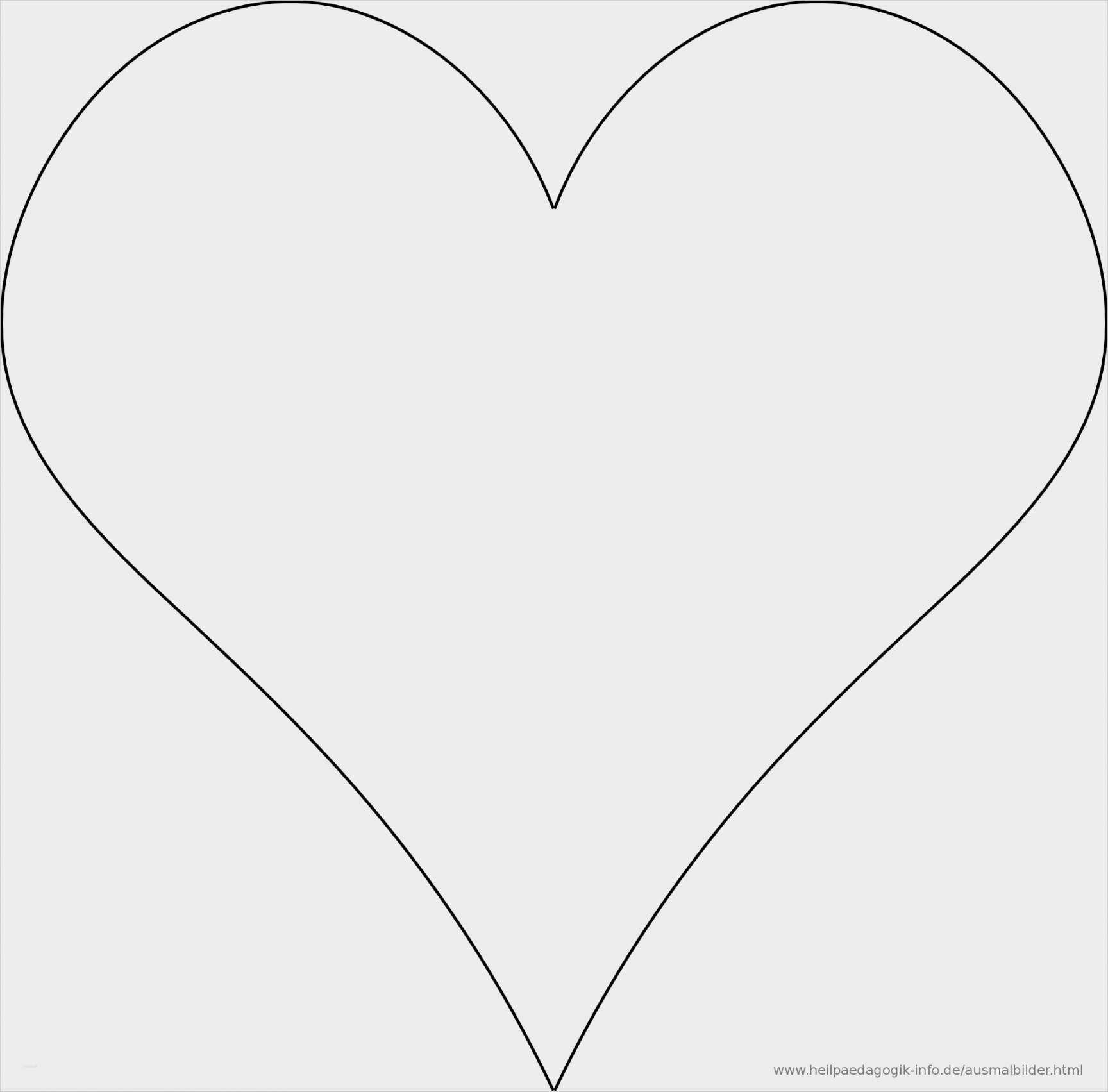 Annehmbar Herz Vorlage Din A4 Zum Ausdrucken