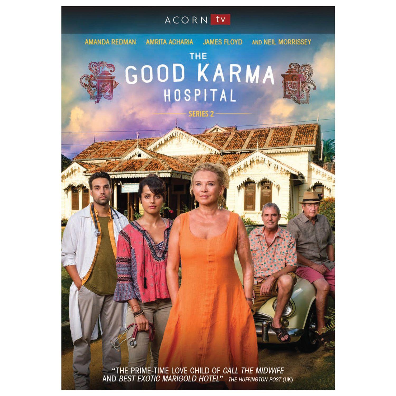 The Good Karma Hospital, Series 2 Dvd & Blu-ray - DVD