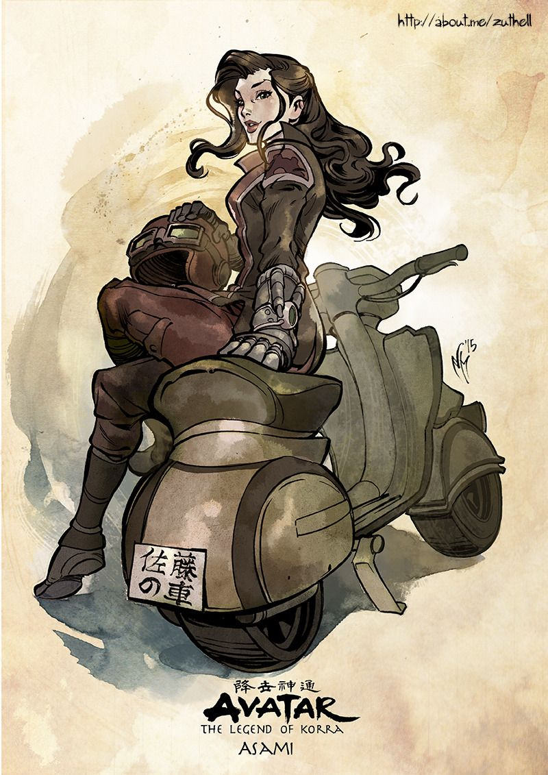 And here goes another character from The Legend of Korra