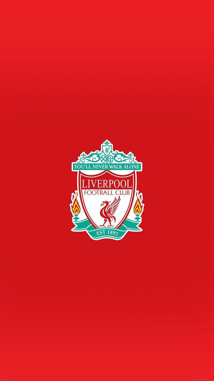 Liverpool Logo Never Walk Alone Wallpaper Hd Iphone สโมสรฟ ตบอล