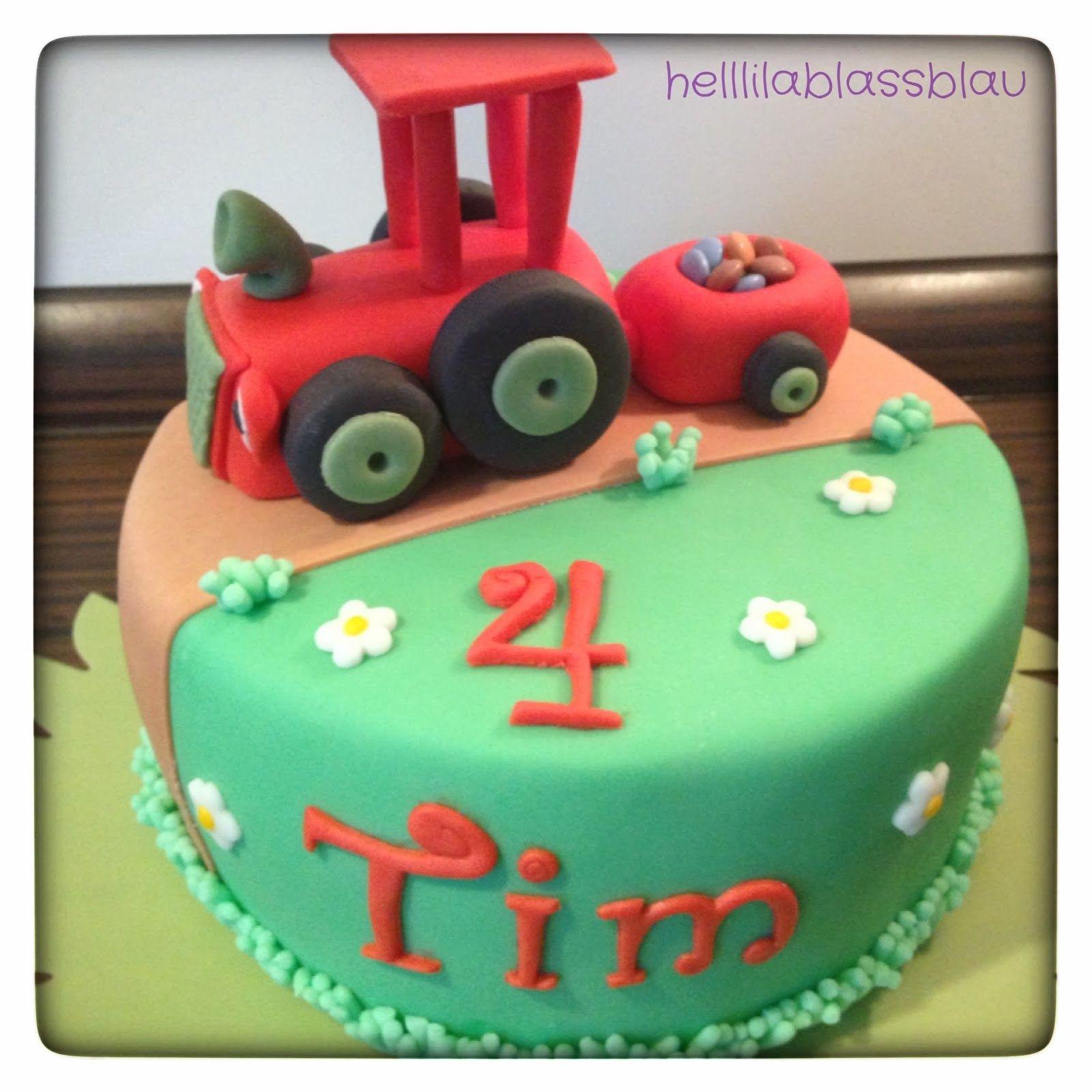 Mein kleiner roter Traktor | Motivtorten | Pinterest ...