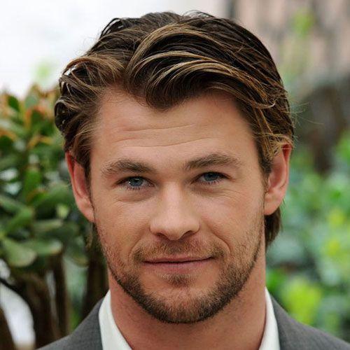 Chris Hemsworth Short Haircut Chris Hemsworth Hair Haircuts For Men Long Hair Styles Men