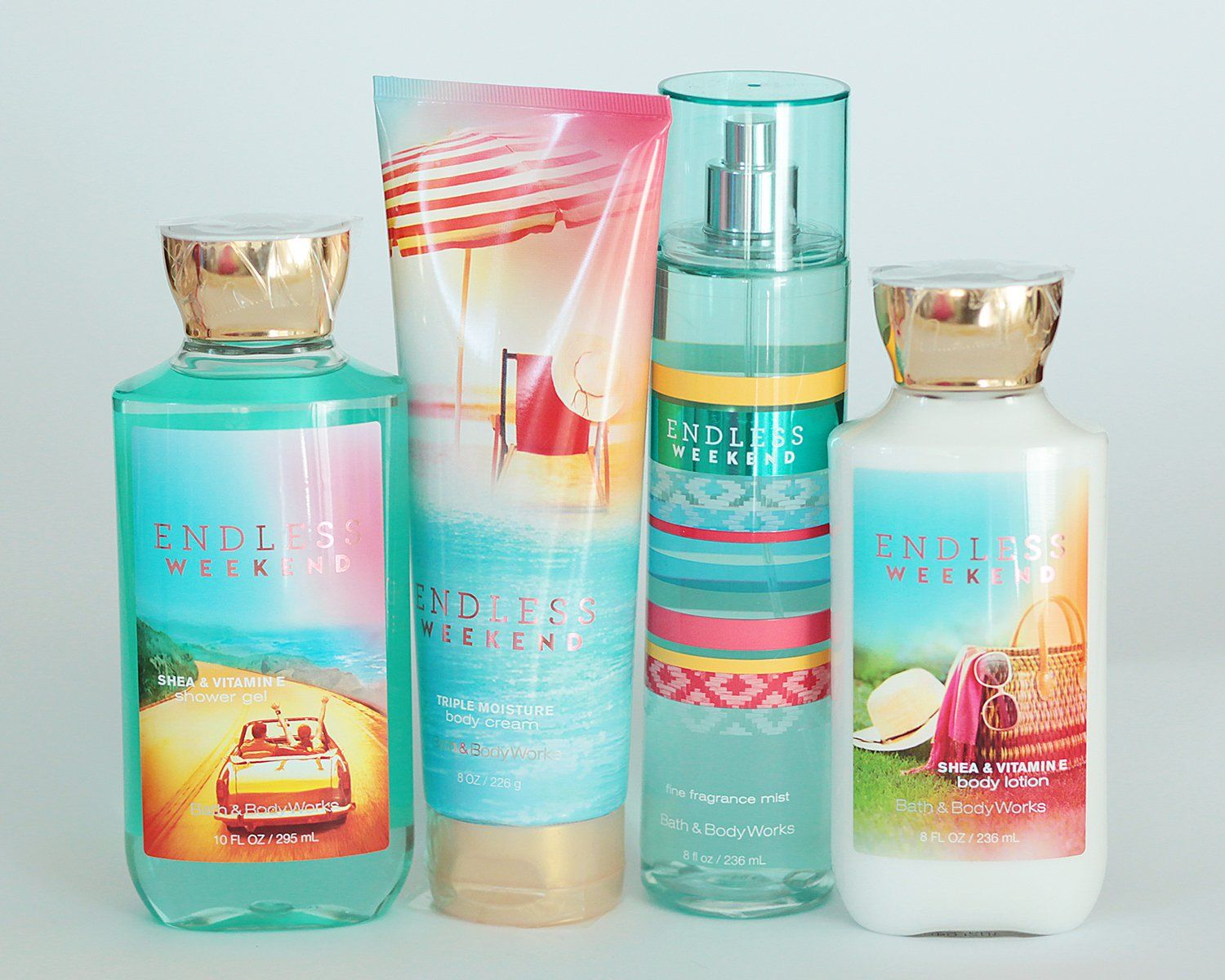 Amazon Com Bath And Body Works Endless Weekend Gift Set Of