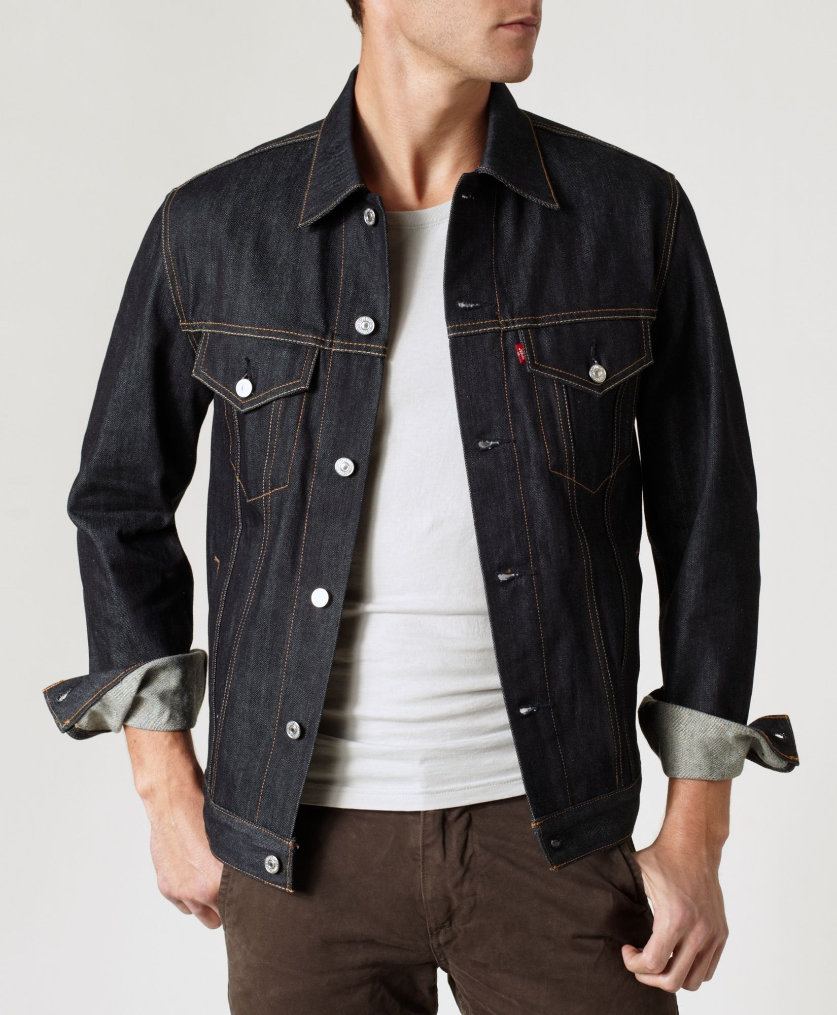 Levi's Slim Fit Trucker Jacket Rigid Slim Fit Truckers