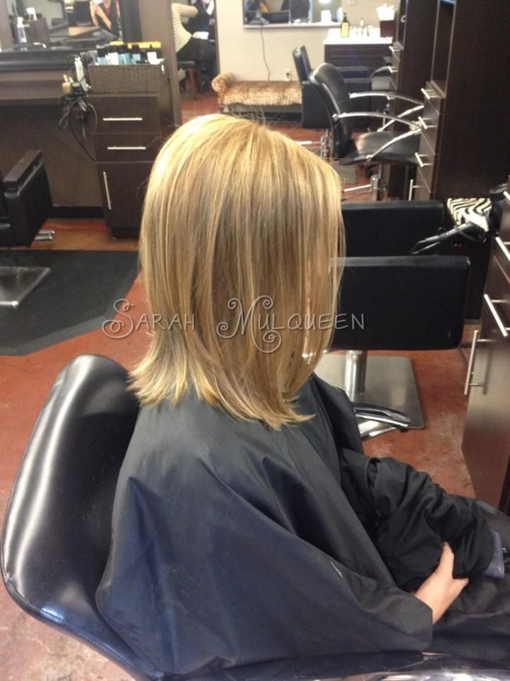 Highlights And Haircut Hair By Sarah Mulqueen At Studio Fifty Fifty