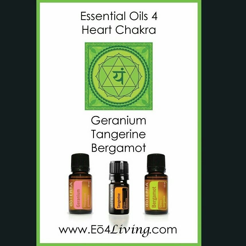 Essential Oils for a happy and healthy Heart Chakra
