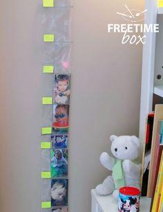 Tuto DIY : réaliser une toise pour chambre d\'enfant ...