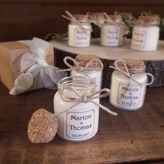 Bomboniera Per Matrimonio Country Chic Candela Bio Con Tappo Nozze Wedding Shabby Wedding Diy Wedding Favors Fun Wedding Invitations