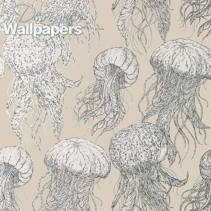 Jelly Fish Bloom T13168 Wallpaper, Construction