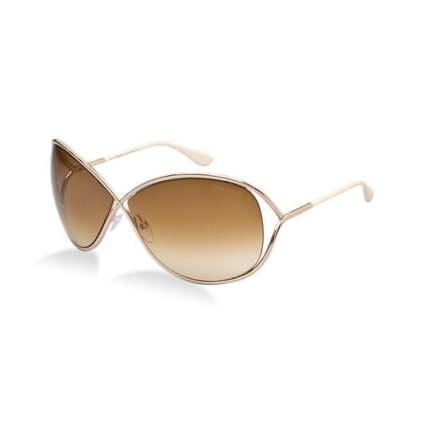 af283b5168 Tom Ford FT0130 MIRANDA Sunglasses at Sunglass Hut found on Polyvore ...