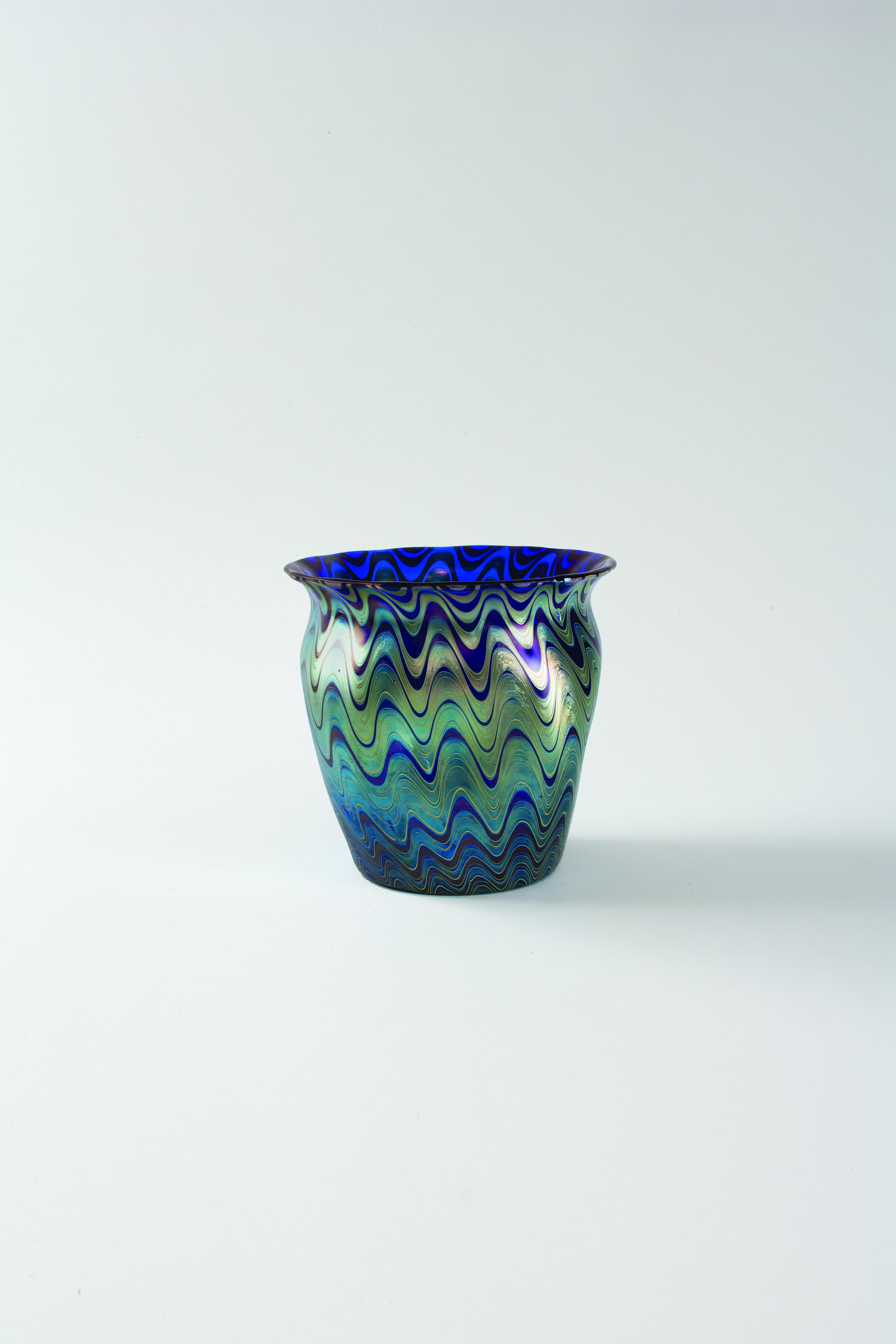 Austrian art nouveau glass vase by loetz an austrian jugendstil austrian art nouveau glass vase by loetz an austrian jugendstil cobalt colored vase with iridescent reviewsmspy