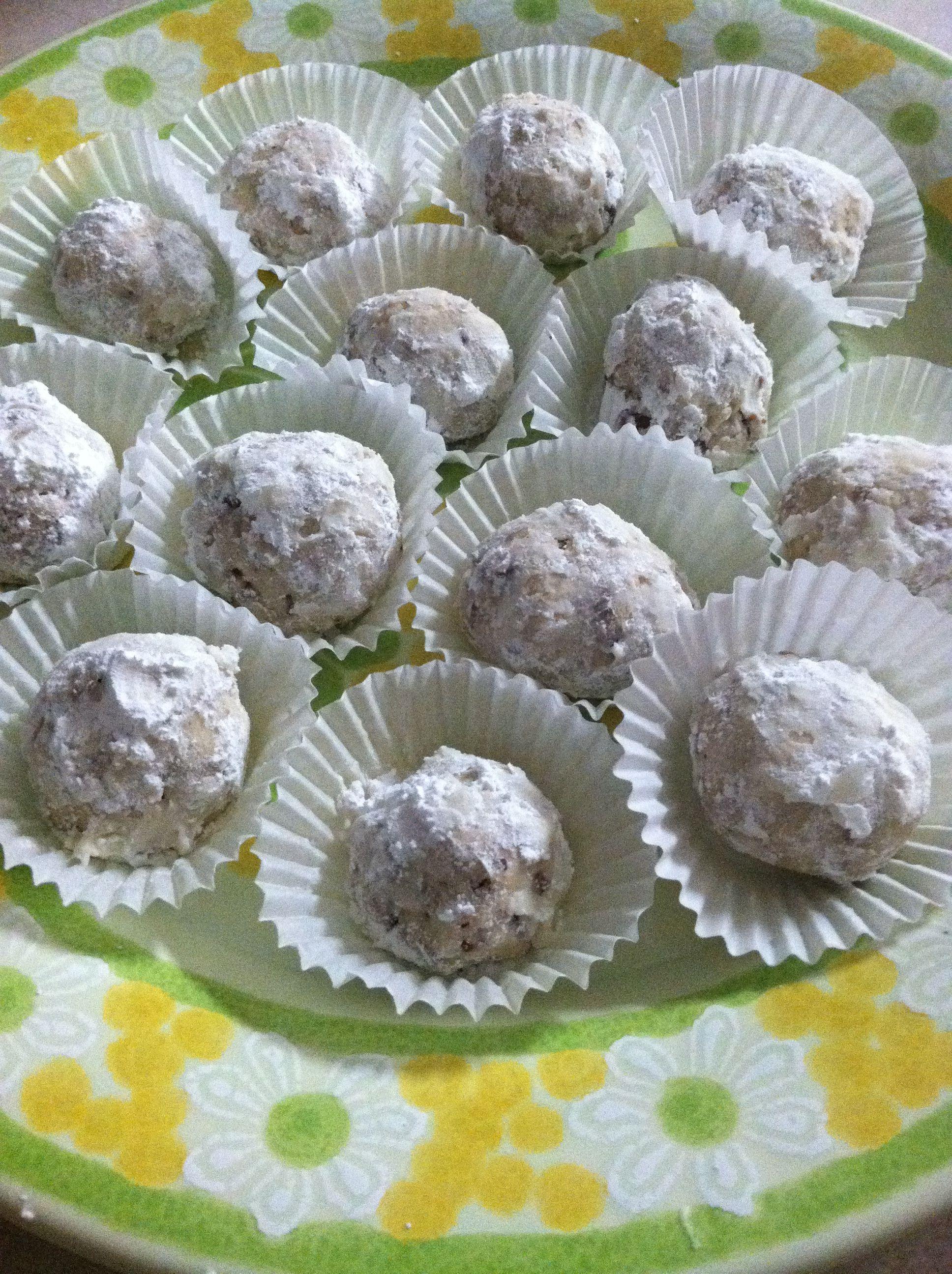 Southern Snowballs Aka Italian Wedding Cookies Or Russian Tea Cakes Grammas