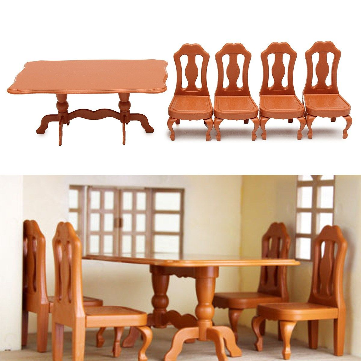 where to buy miniature furniture. DIY Miniatura Furniture Dining Tables Chairs Sets For Mini Doll House Miniatures Toys Gifts Where To Buy Miniature C