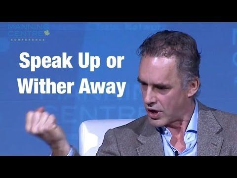Jordan Peterson's rousing call for people to SPEAK UP ...