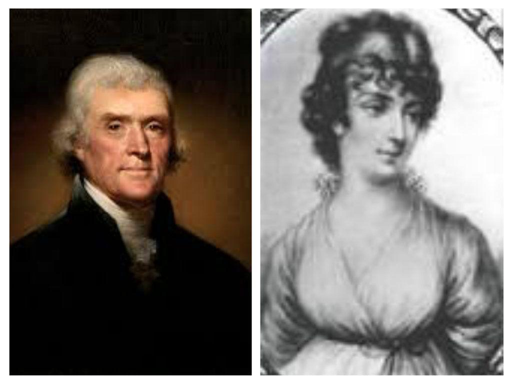 Thomas Jefferson and Martha Wayles Skelton Jefferson ...