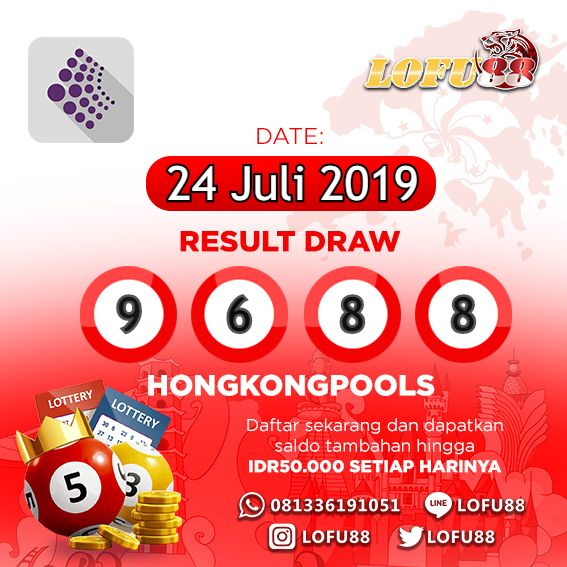 Result Draw Hongkong Pools  F F  E Selasa   F F   Result