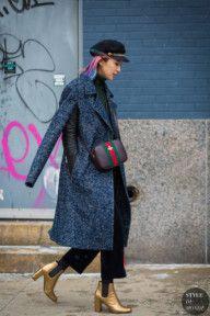 New York Fashion Week FW 2016 Street Style: Irene Kim
