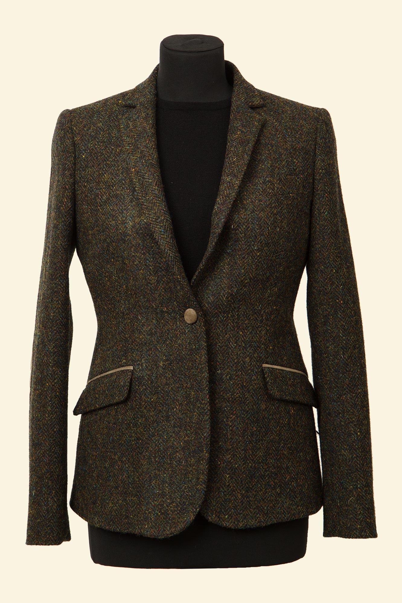 Harris tweed jackets for women