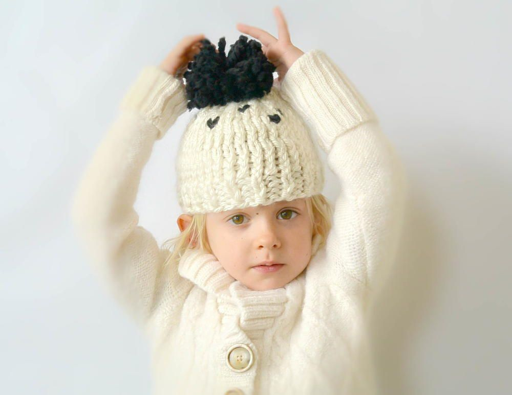 Everyday Beginner Chunky Toddler Hat | Knit Baby Hats | Pinterest ...