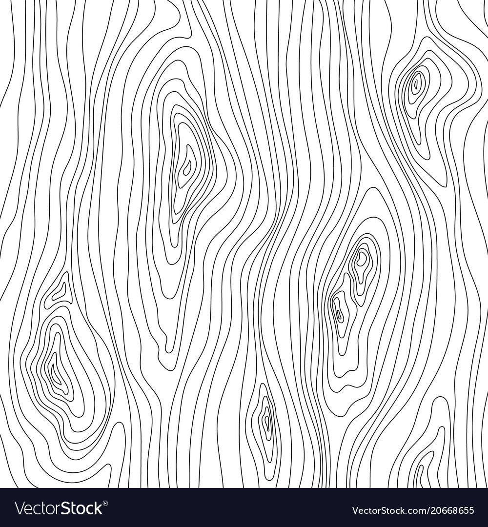 Wooden Texture Wood Grain Pattern Abstract Fibers Vector Image On Vectorstock Wooden Textures Abstract Texture Drawing