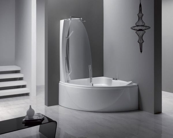 Duschwand für Badewanne shower tub Pinterest Shower tub and Tubs