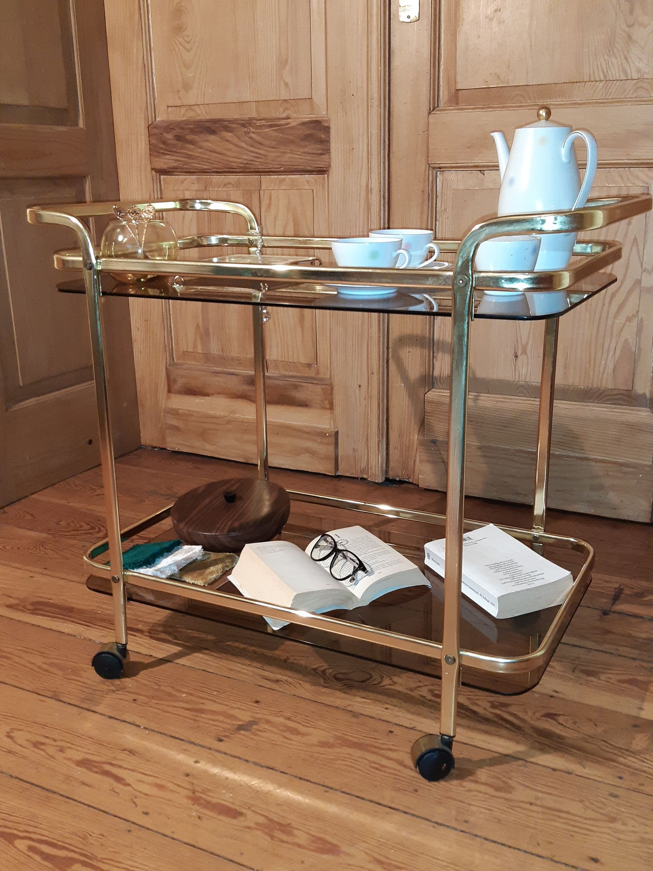 Wunderbarer Vintage Tee Servierwagen Auf Dawanda Vintage Tee Servierwagen Vintage