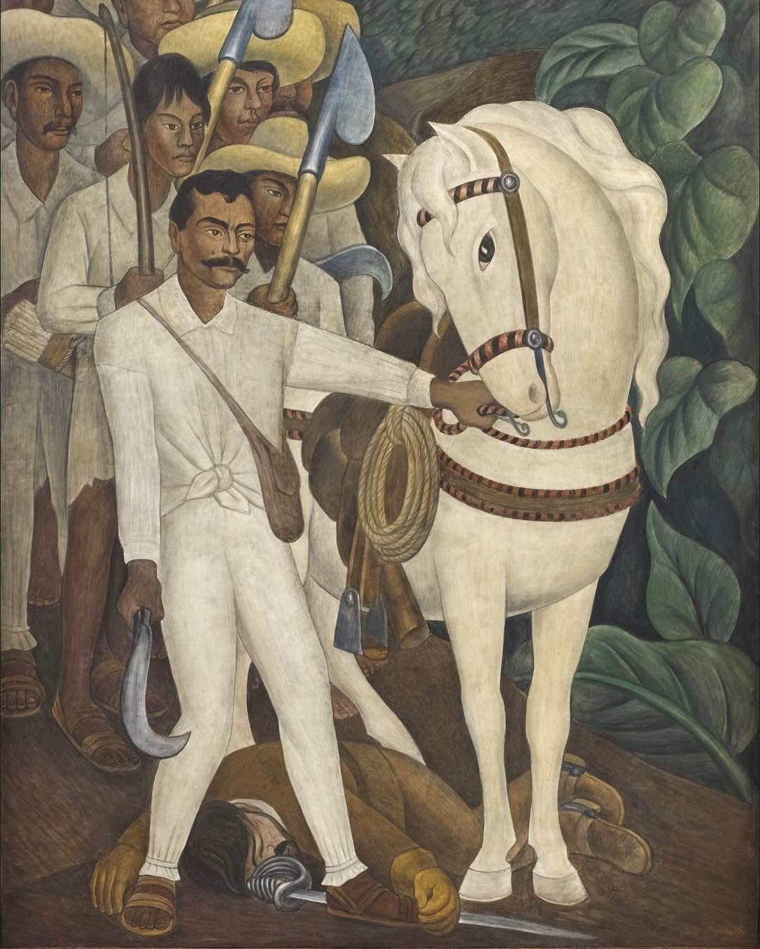ZAPATA Diego Rivera 1930