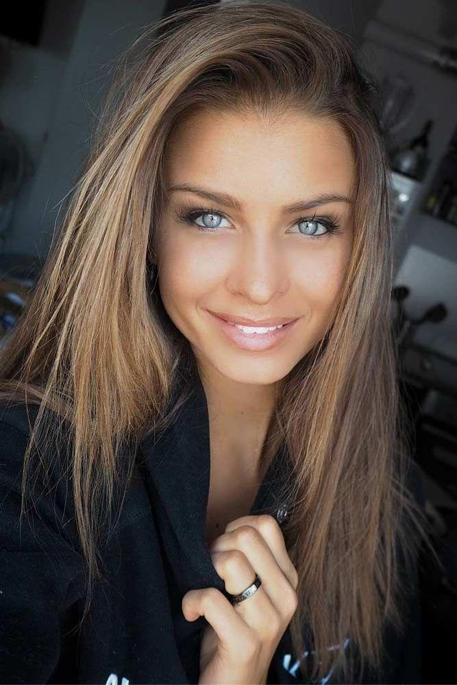 42 Fantastische dunkelblonde Haarfarbe - Cool Style #darkblondehair