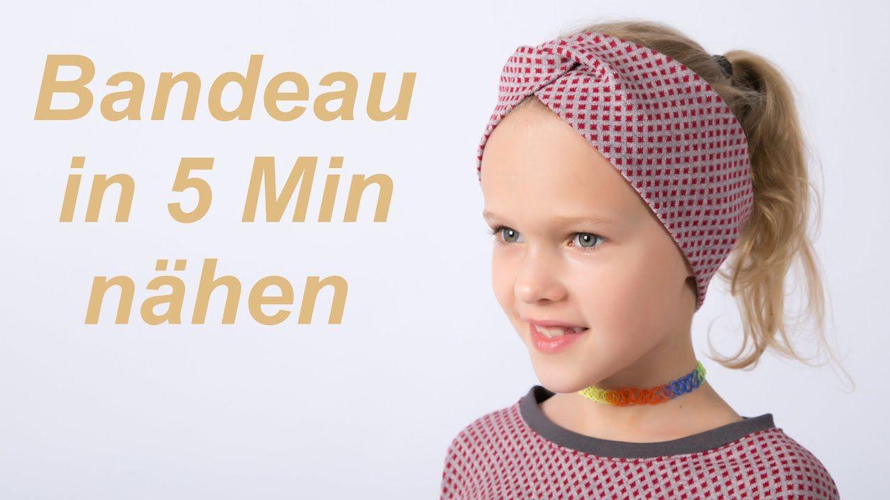 DIY Stirnband Bandeau Haarband nähen für Anfänger ...