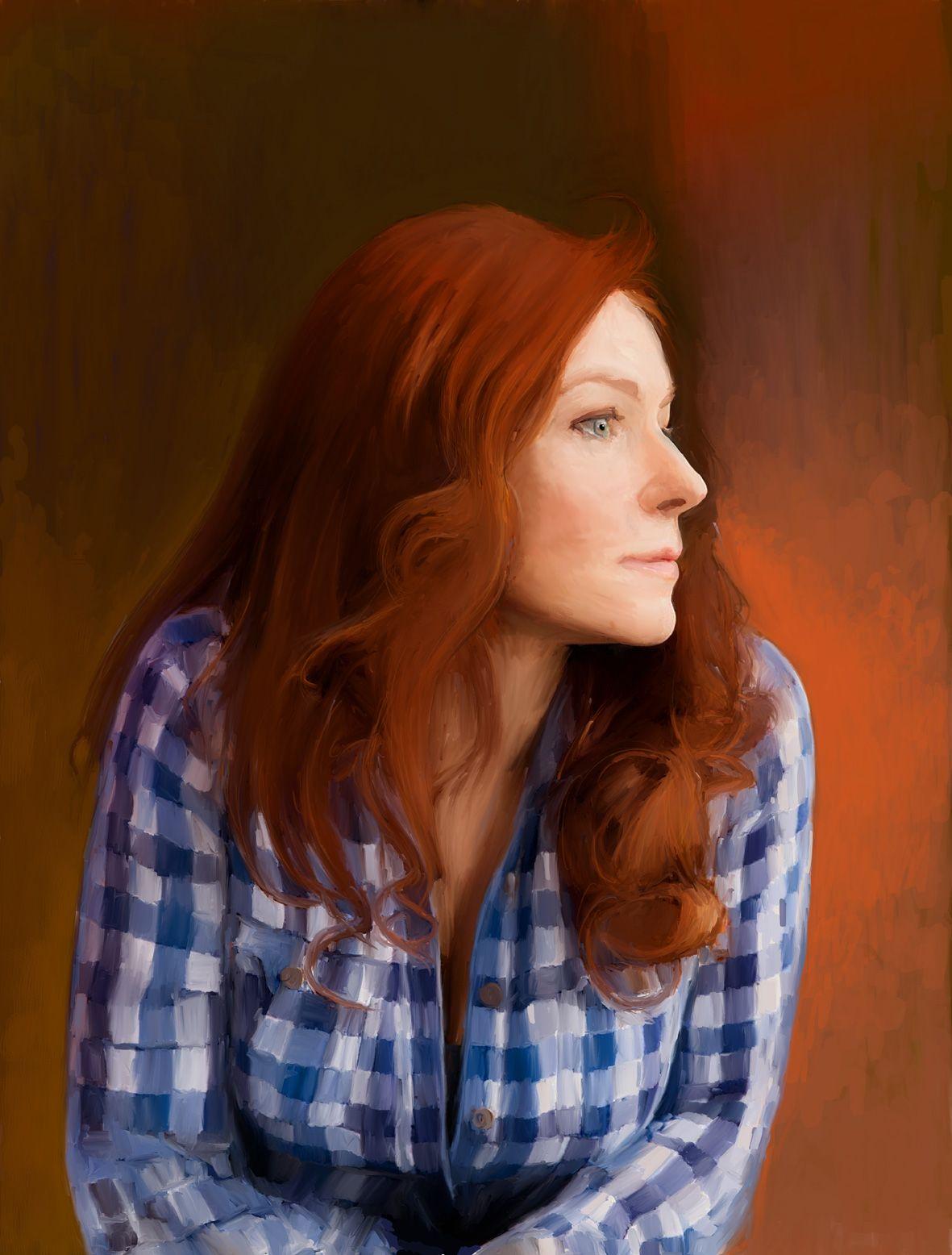 a photoshop painting of camille crimson donedariusz zapala