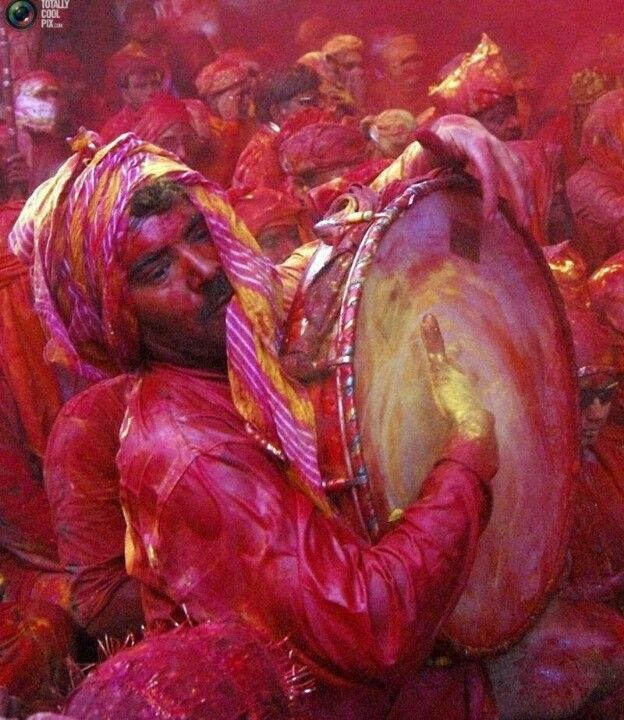 Holi festival India