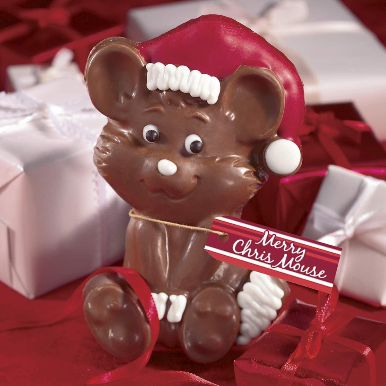 Chris mouse chocolate gift chocolate gifts christmas