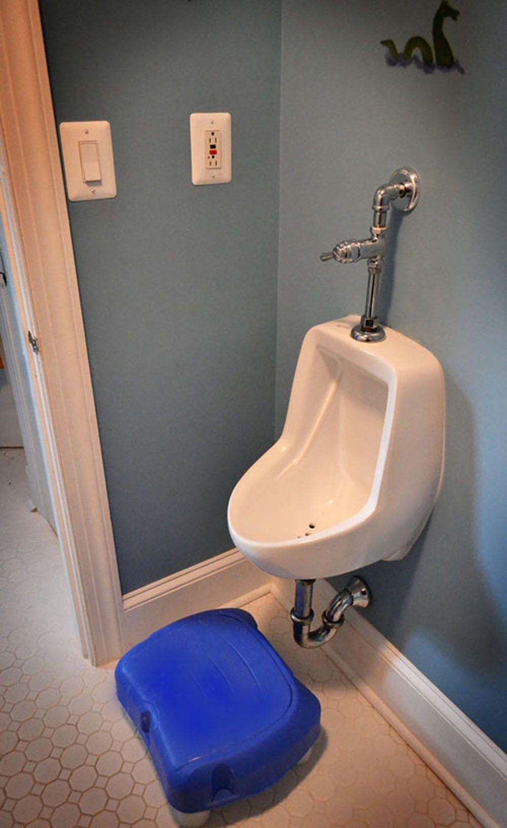 How To Put A Urinal In Your Home Bathroom And Make It Look Normal