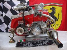 Fiat 500 Abarth 50 Hp Engine From Ricambi Fiat 500 Spare Parts