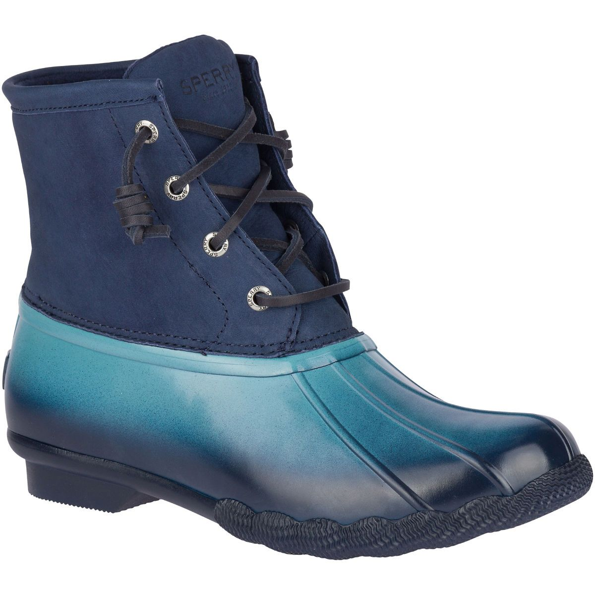 Women's Saltwater Ombre Duck Boot Blue