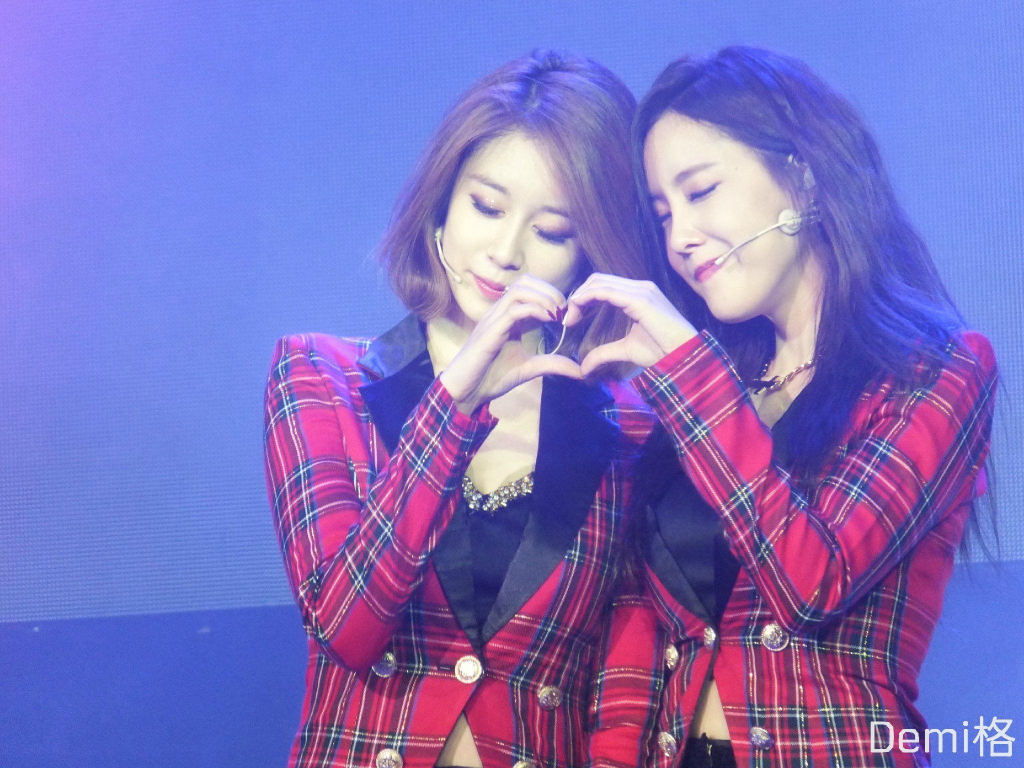 Kết quả hình ảnh cho couple Jiyeon và Hyomin