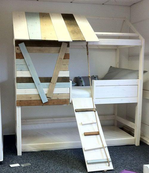 kinderbetten von lifetime in der ausstellung baumhaus und himmelbett kidz castle. Black Bedroom Furniture Sets. Home Design Ideas