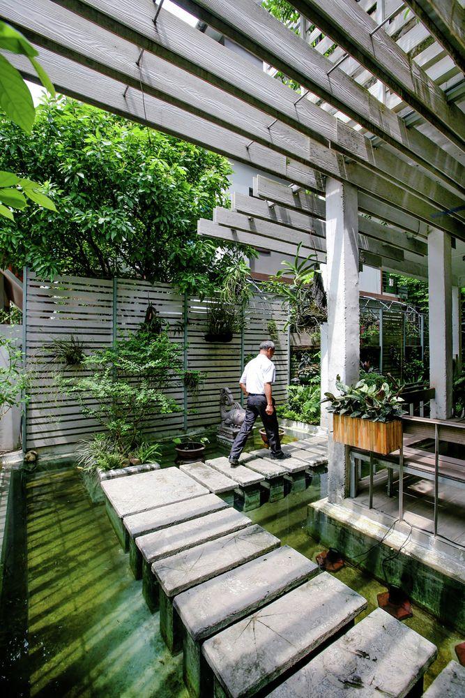 Gallery of Growing Green Office   Studio 102 - 6 Jardins - petit jardin japonais interieur