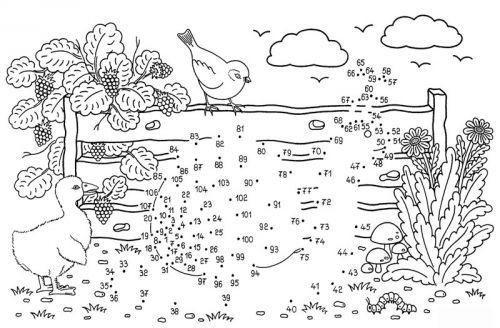 Malen Nach Zahlen Schnecke Zum Ausmalen Dibujos Para Colorear Paginas Para Colorear Puntos