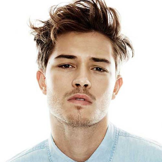 The Messy Look Men S Hairstyle Quality Mensgrooming Modern Style Admiral Men Hair Menshair Mens Messy Hairstyles Long Hair Styles Men Mens Hairstyles