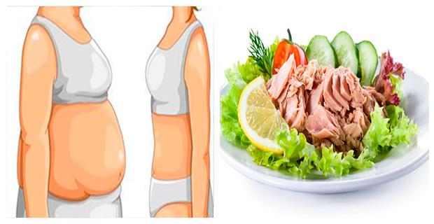 Peso perder para dieta atun del