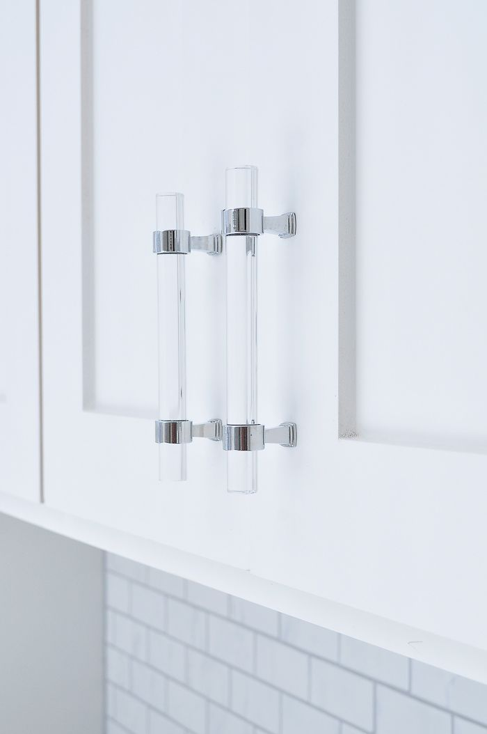Affordable Lucite Cabinet Pulls Review   Lindsay Style // Hardware + ...