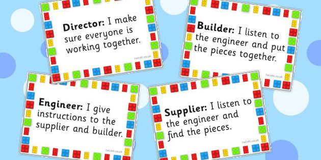 Building Block Therapy Job Badges  Building Bricks Therapy