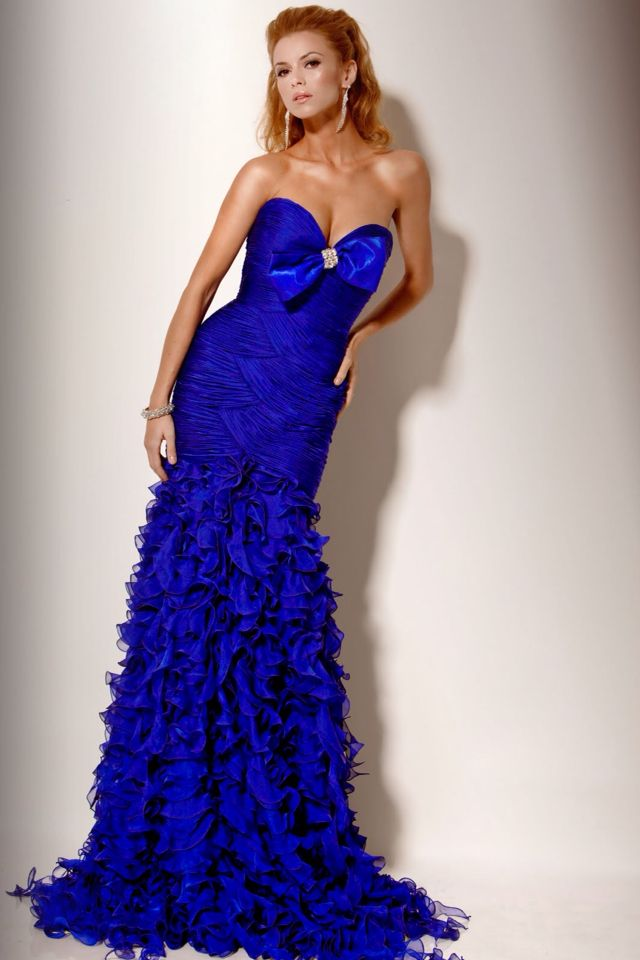 Pretty blue prom dress | Dresses | Pinterest