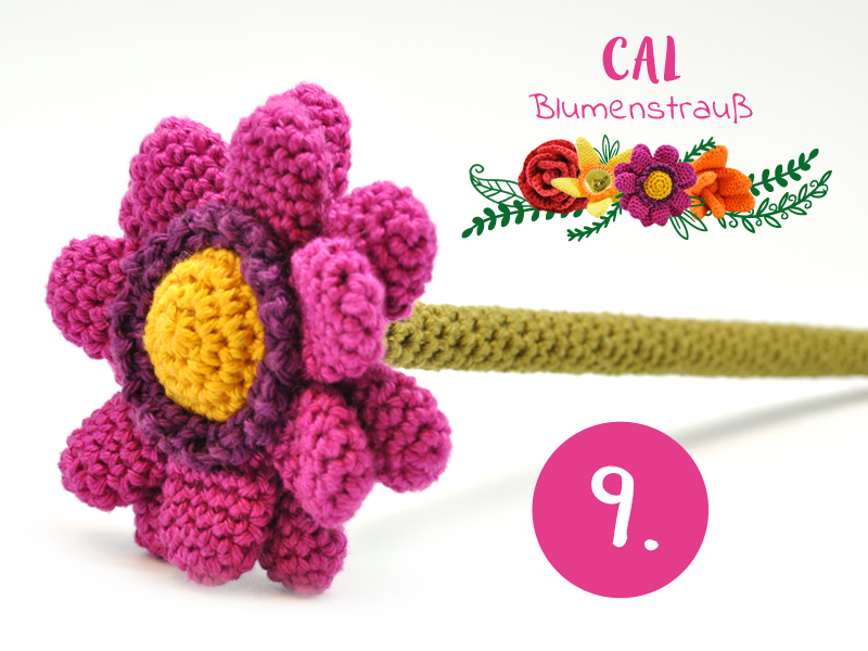 Blumenstrauß Cal Häkeln Sie Mit Uns Mit Blumen Aus Wolle Oder